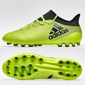 adidas X 17.1 AG Mens Football Boots Artificial Grass 3G 4G Yellow SIZE 9.5 £180