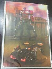 Transformers Back To The Future Virgin Cover A Livio Ramondelli Variant Coa Hot