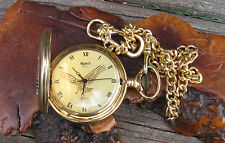 Vtg New Eagle MAJESTI Pocket Watch 1998