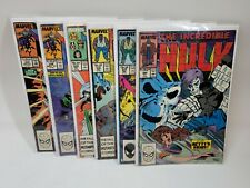 Marvel Comic Book Bundle, 6 Vintage Authentic Comics, X-Men and The Hulk