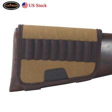 Los cartuchos de rifle táctica tourbon Pistola de transporte Cubierta Culata titular de bala Marrón