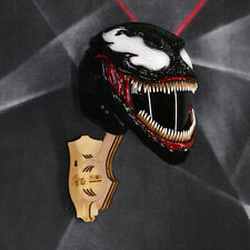 Venom (Symbiote) motorcycle helmet. DOT&ECE certified. Free worldwide shipping!