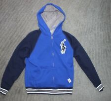 Polo Ralph Lauren Toddler Boys Blue Hoodie (Big Pony) - Size 4T - NWT
