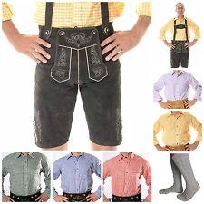 German Bavarian Oktoberfest Trachten Package/Set {Lederhosen+Shirt+Socks} BRT