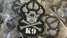 K-9 CROSSBONES DOG – POLICE – ARMY – NAVY – AIR FORCE – TACTICAL (SWAT)