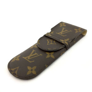 100% Authentic Louis Vuitton Monogram Etui Stylos Pen Case /70829