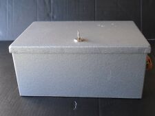 Money Safebox Jewelry Cash Storage Strong Box Steel Home Security w/ Keyed Lock