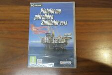 PLATEFORME PETROLIERE SIMULATOR 2013  --- JEU NEUF POUR PC