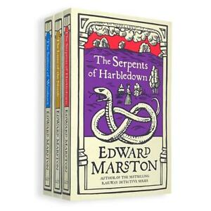 Edward Marston Domesday Series Collection 3 Books Set Book (4-6) NEW
