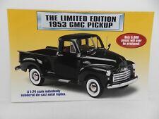Danbury Mint 1953 GMC PICKUP Truck Brochure Pamphlet Mailer