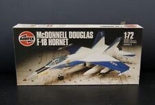Airfix McDonnel Douglas F-18 Hornet 9 04024 Kit, Open Box, Complete, L-1821