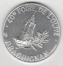 A 1993 ECU EURO TEMPORAIRE OU  DES VILLES - 83 DRAGUIGNAN FOIRE DE L'OLIVE 1 ECU