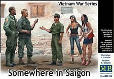 Master Box 1/35 Vietnam War Series Somewhere in Saigon # 35185