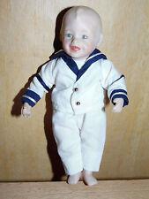 Yolanda Bello Ashton Drake  Puppe Künstlerpuppe Matrose 18cm groß