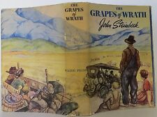 JOHN STEINBECK The Grapes of Wrath FIRST EDITION