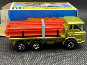 MATCHBOX LESNEY Superfast DAF GIRDER TRUCK No. 58 MINT  w/ BOX