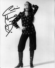 CAROLINE MUNRO hand-signed YOUNG SEXY FULL-LENGTH 8x10 uacc rd coa HOT BOND GIRL