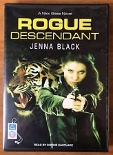 Jenna Black ROGUE DESCENDANT Nikki Glass Unabridged Audiobook/Audio Book MP3-CD