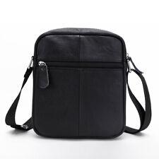 Small Messenger Bag Briefcase Leather Shoulder bag Crossbody Bag Handbag For Men