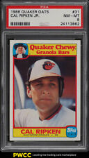 1986 Quaker Oats Cal Ripken Jr. #31 PSA 8 NM-MT (PWCC)