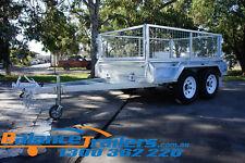8x5 Hot Dip Galvanised Full Welded Heavy Duty Tandem Trailer ATM 3200KG