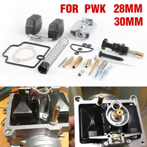 Set 28mm/30mm Motorcycle Carburetor Rebuild Kit Spare Jet Fit For PWK KEIHIN OKO