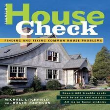 House Check: Finding and Fixing Common House Problems (Spiral Bound, Comb or Coi