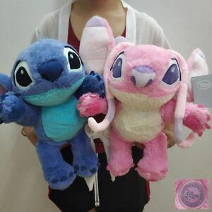 Disney Lilo and Stitch  626 Stitch and Angel Plush Doll Toy 35cm 2pcs Gift