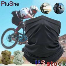 Summer Face Cover Scarf Neck Gaiter Biker Tube Bandana Beanie Cover Cap Headwrap
