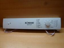 Blende+Steuerung Bomann GSP 5707 ORIGINAL !!  k.17