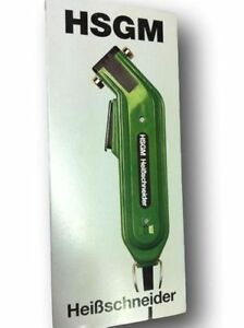 Heissschneider Hot Knife Cutter for Synthetic Rope Cords & Webbing With UK Plug