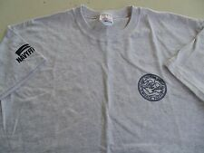 USN US NAVY AFLOAT TRAINING GROUP PEARL HARBOR GRAY ATHLETIC PT S/S T-SHIRT LG