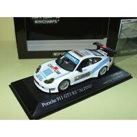 PORSCHE 911 GT3 RS 996 ALPINE MINICHAMPS 1:43