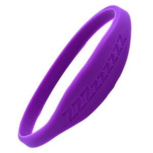 Bionic Silicone Sleep ZZZzzzzzz Band True Frequency Bracelet (M)