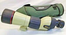 Nikon Fieldscope ED60 D=60 P w/ 25-75X Eyepiece & Cover Fast Free Shipping