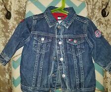 Tommy Hilfiger Infant Denim Jacket 6-12 Months Blue Jean Truckers Vintage