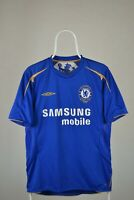 Chelsea Football Shirt Umbro M MEDIUM Home Soccer Jersey Centenary 100 2005 2006