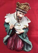 Replacement for Grandeur Noel Nativity 2003 Green & Red King