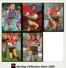 1995 Dynamic Rugby League Winfield Cup Card Base Team Set North Sydney Bears (5)