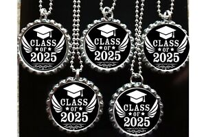 Class of 2025 Graduation 10 necklaces necklace party favors loot bag Grad