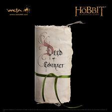 WETA The Hobbit An Unexpected Journey The Contract Of Bilbo Baggins Prop Replica