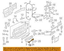 AUDI OEM 08-10 A8 Quattro Front Door-Switch Panel Left 4E1868397C7PE