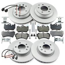 Brake Set Front + Brake Disc Rear + Brake Pads+Accessories + Warning Contact
