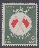 Abu Dhabi 1967 ** Mi.26 Freimarke Definitive Flaggen Flags