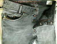 *HOT Men's DIESEL IAKOP 803T Slim TAPERED GREY STRETCH Jeans 30 x 32 (Fit 29x32)