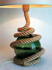 Audoux Minet lampe corde mid-century