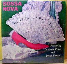 RAMSEY LEWIS TRIO - Bossa Nova - '62 Argo cover Cadet lbl DG MONO LP -SHRINKWRAP