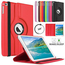 For Apple iPad Mini 1/2/3/4 Leather Magnetic 360° Rotating Stand Flip Case Cover