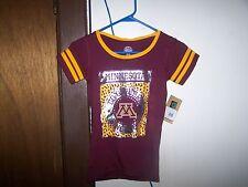 Minnesota Golden Gophers Girls Cut Shirt Medium 7/8 Ncaa Rivalry Threads