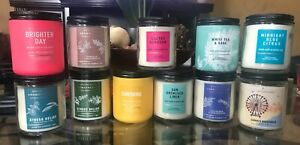 Bath and Body Works Single Wick Candles (Various Scents)